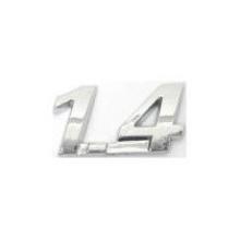 EMBLEMA 1.4 FIAT 04/ CROMADO - 1174