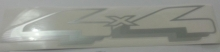 EMBLEMA 4X4 RANGER PRATA - 1240