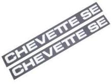 PLAQUETA FRISO CHEVETTE SE - 1300