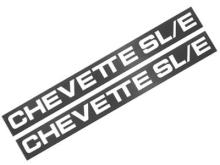 PLAQUETA FRISO CHEVETTE SL/E - 1301