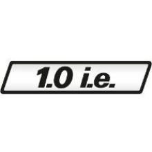 EMBLEMA 1.0 IE UNO ELX RESINADO - 1410