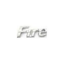 EMBLEMA FIRE FIAT 00/  CROMADO - 1489