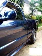 SPOILER LATERAL S10 CAB SIMPLES PRETO - 151