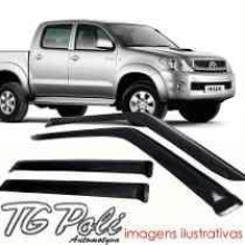 CALHA CHUVA HILUX SRV PICK-UP 4P 05/13  - 1544