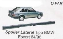 SPOILER LATERAL ESCORT 84/92 PRETO - 49