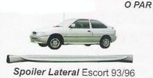 SPOILER LATERAL ESCORT 93/96 2P PRETO - 50