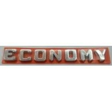 EMBLEMA ECONOMY FIAT 12/ CROM - 5268