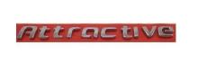 EMBLEMA ATTRACTIVE FIAT 12/ CROMADO - 5495