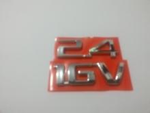 EMBLEMA 2.4 16V CROMADO- VECTRA 8637. - 5559