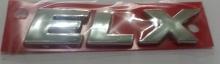 EMBLEMA ELX FIAT 2010/ CROMADO 13051 - 5564