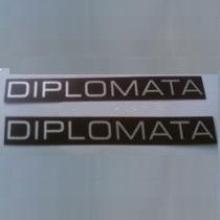 PLAQUETA FRISO DIPLOMATA 86/90 - 7503