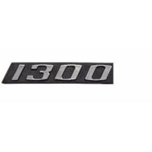 EMBLEMA 1300 CROM/PRETO FUSCA - 8246