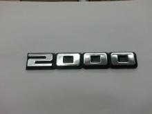 EMBLEMA 2000 VW 82/90 CROMADO - 831